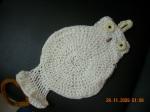 Owl towel holder1